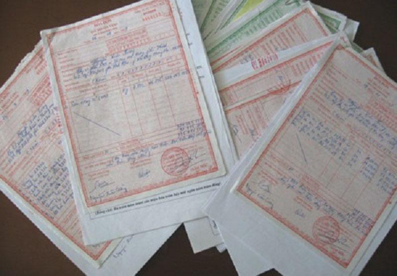 Đầy đủ hóa đơn dịch vụ thông tắc cống tại Ba Đình